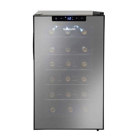Imagem de Adega climatizada cannes 18 garrafas preta 127v suggar ad1811pt