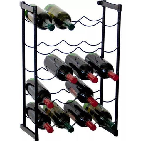 Imagem de Adega de Vinho de Chão Rack Porta Até 20 Garrafas - Metaltru