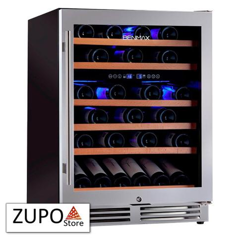 Imagem de Adega de Vinhos Climatizada para 51 Garrafas de Vinho com Temperatura Dual Zone Benmax - BAC51 - 127V