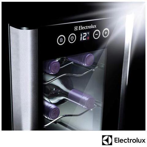 Imagem de Adega de Vinhos Electrolux para 08 Garrafas com até 18 C - ACS08