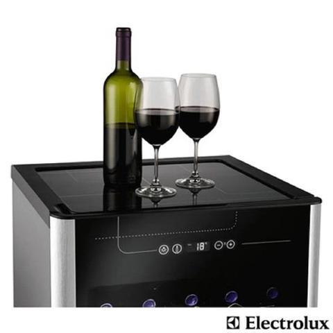 Imagem de Adega Electrolux 24 Garrafas ACS24 Preto e Inox 110V 01241WBA189