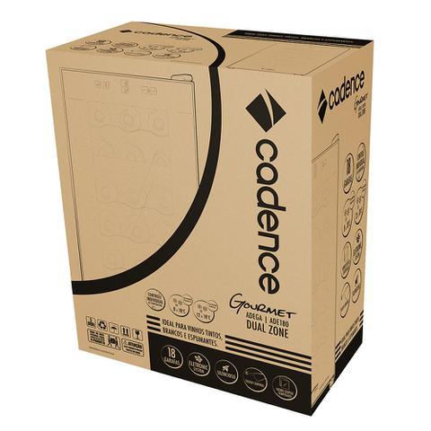 Imagem de Adega Gourmet Cadence 18 Garrafas Dual Zone Touch
