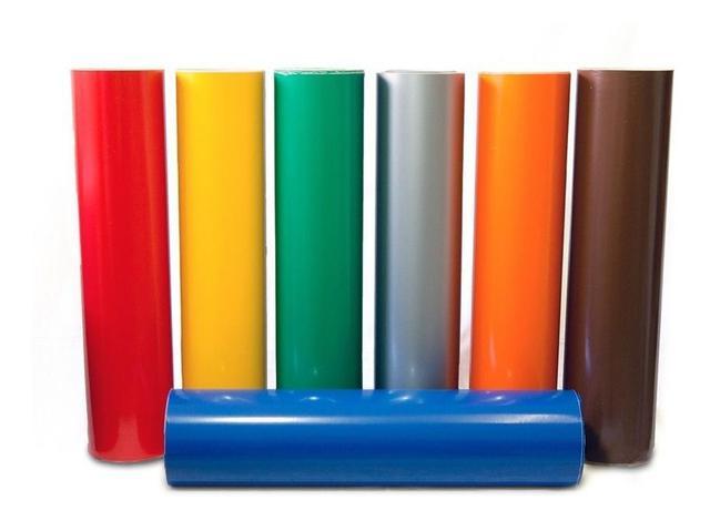 Imagem de Adesivo Colorido Vinílico Envelopamento Móveis E Geladeira
