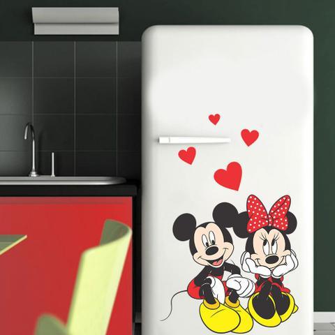 Imagem de Adesivo de Geladeira Mickey e Minnie