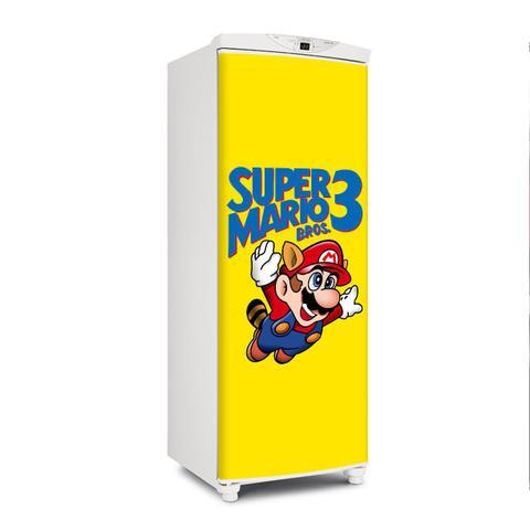 Imagem de Adesivo De Geladeira Porta Super Mario 3 150X60cm