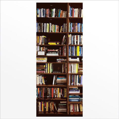 Imagem de Adesivo de porta - estante de livros 1
