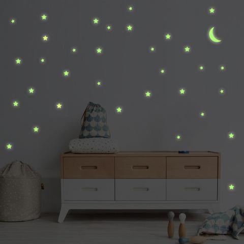 Imagem de Adesivo Destacável Fotoluminescente - Brilha no Escuro