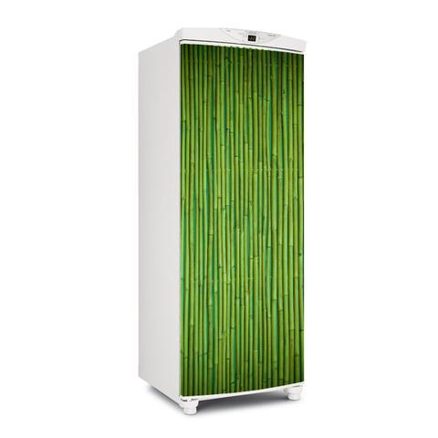 Imagem de Adesivo Geladeira Envelopamento Porta Bamboo 3 - 180x65cm