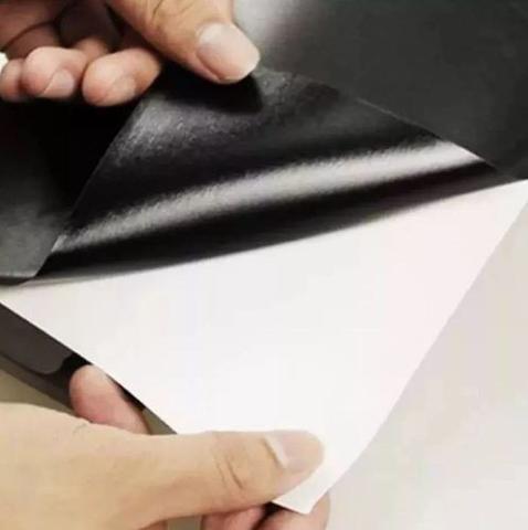 Imagem de Adesivo Lousa Quadro Negro Preto Fosco 1m X 50 Cm Com Giz