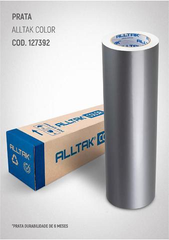 Imagem de Adesivo para envelopamento Geladeiras Móveis 8MX50CM PRATA