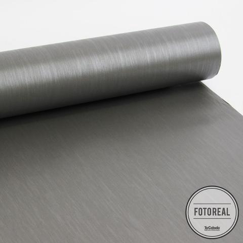 Imagem de Adesivo para geladeira Escovado Grafite 0,61m