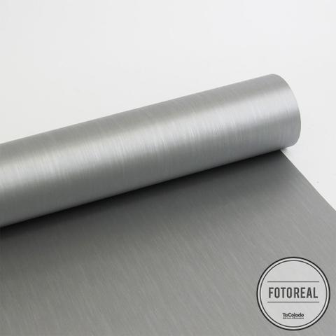 Imagem de Adesivo para geladeira Escovado Inox 0,61m