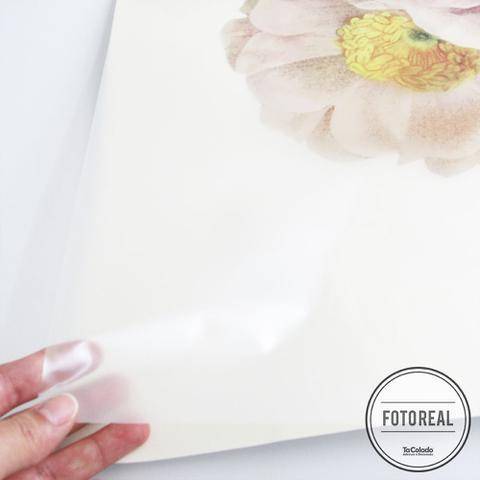 Imagem de Adesivo Para Vidro Box Banheiro Jateado Decorado Rose Prova D'Agua