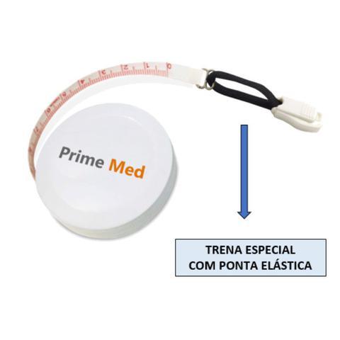 Imagem de Adipômetro Clínico Analógico + Trena corporal + Lápis de marcação +  Balança