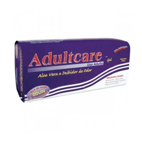 Imagem de Adultcare Absorvente Geriátrico C/20