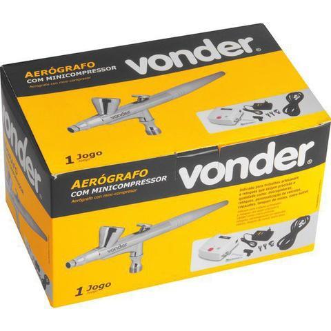 Imagem de Aerógrafo com Mini Compressor Bivolt Vonder