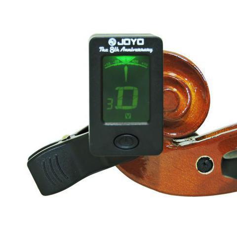 Imagem de Afinador Clip Joyo Jt-01 - Digital Cromático p/ Violao, Guitarra, Baixo, Ukulele e Violino