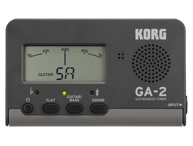 Imagem de Afinador compacto korg para guitarra e baixo - ga-2
