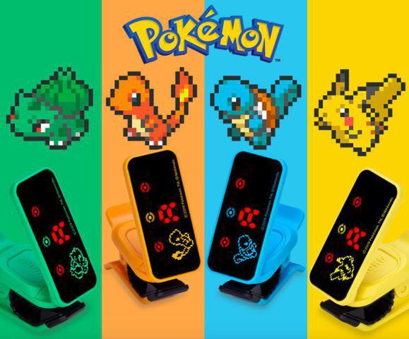 Imagem de Afinador Cromático Korg Pokemon Pikachu Amarelo PC2PPK