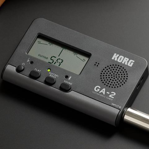 Imagem de Afinador para guitarra e baixo korg ga-2 compacto