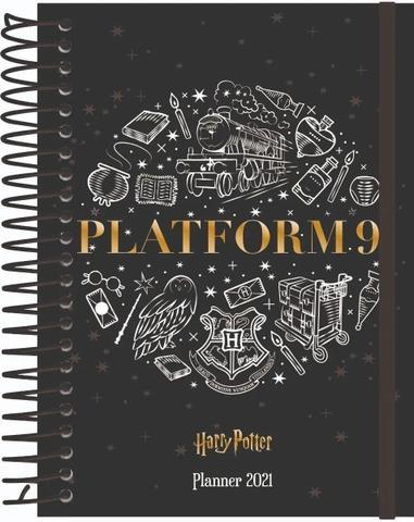 Imagem de Agenda Planner 2021 Espiral Harry Potter Jandaia