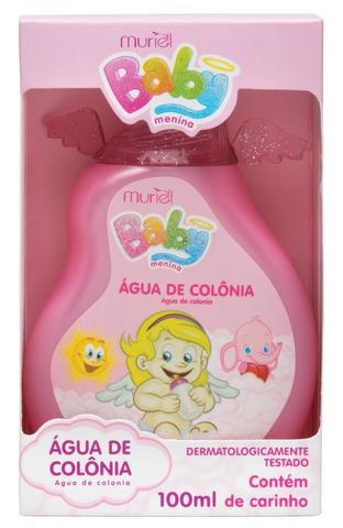 Imagem de Água De Colônia Perfume Para Bebê Infantil Menina 100ml