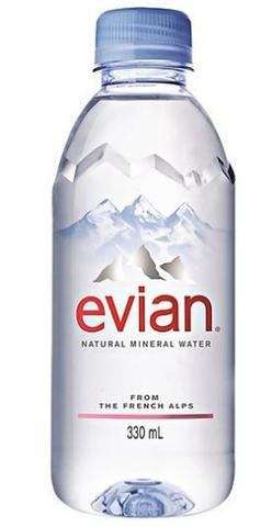 Imagem de Agua Evian PET sem GAS 330ML