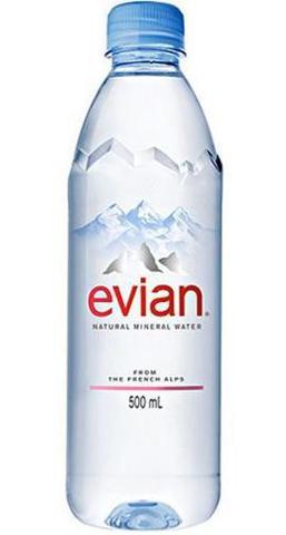 Imagem de Agua Evian PET sem GAS 500ML