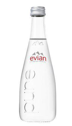 Imagem de Agua Evian sem GAS Vidro 330ML