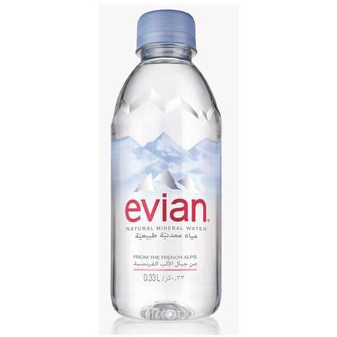 Imagem de Água Mineral Evian Sem Gás 330ml 03 Unidades