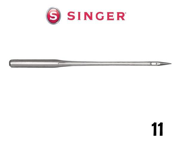 Imagem de Agulha de Máquina de Costura Singer para Costura 2020 N 11 Algodão