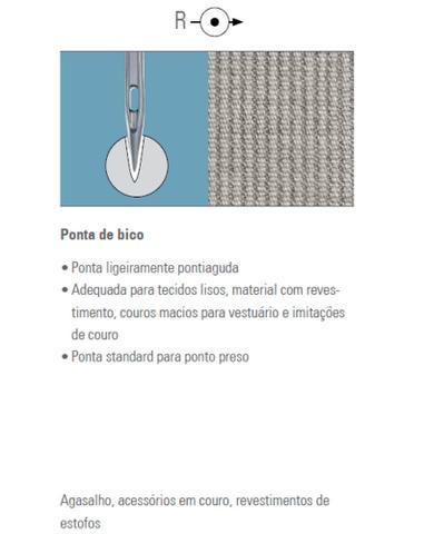 Imagem de Agulhas de Máquina Industrial Reta Cabo Fino DBx1 Singer