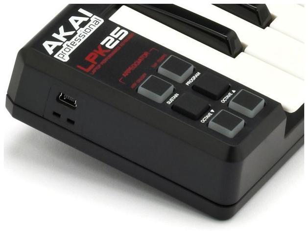 Imagem de Akai Lpk25 Teclado Controlador Midi Usb Mini