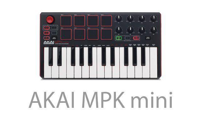 Imagem de Akai MPK Mini Mk2 - Controlador Midi Usb