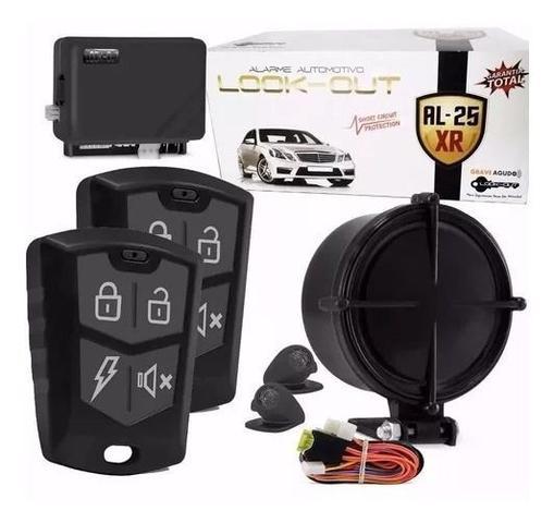 Imagem de Alarme Automotivo Universal 2 Controles Com Bloqueio Carro