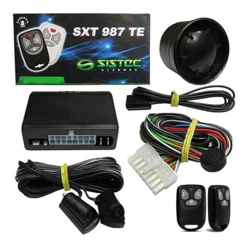 Imagem de Alarme Para Carro Universal Sxt987 Sem Bloqueio Sistec O Mais Vendido no Mercado de Alarmes