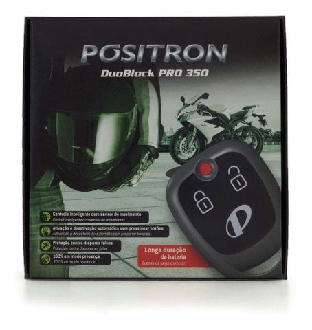 Imagem de Alarme Para Motos Pósitron Duoblock Pro 350 G8 Universal 2 Controles, Sensor de Movimento e Presença