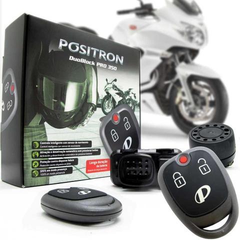 Imagem de Alarme Pósitron Duoblock Pro G8 350 para Moto