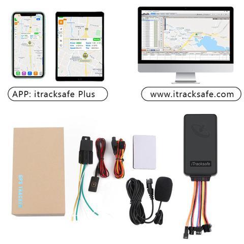 Imagem de Alarme Rastreador Veicular GPS 3G Bloqueio Motor e Escuta
