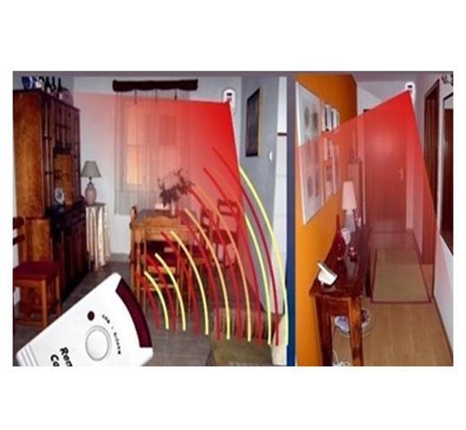 Imagem de Alarme Sensor De Presença Infravermelho Sem Fio Com Controle