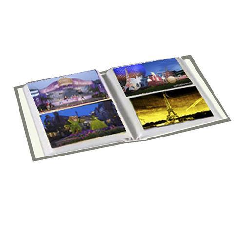 Imagem de Álbum 10x15 -Album Mania- Modelo Preto Liso -Capacidade Para 480 Fotos 10x15 cm + Brinde