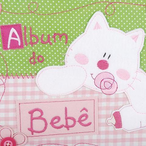 Imagem de Álbum 120 Fotos 10x15 Bebê Bordado Rec 500/08