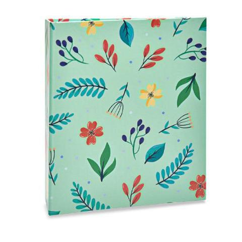 Imagem de Album 120f 10x15 floral rebites  ical - 313