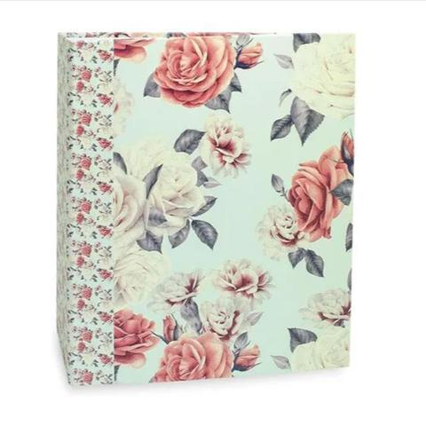 Imagem de Album 120f 10x15 floral rebites  ical - 563