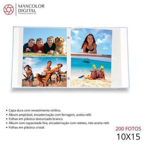 Imagem de Album 200f 10x15 viagem rebite - ical 551