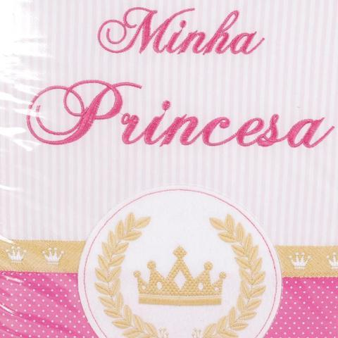 Imagem de Álbum 240 Fotos 10X15 Bebe Bordado Minha Princesa