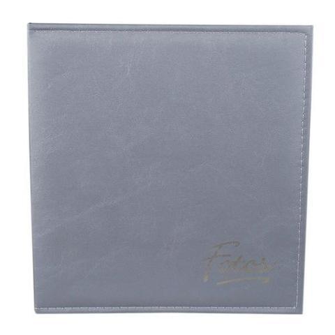 Imagem de Álbum Autocolante 15 Folhas 23,3x28cm Cinza Ical
