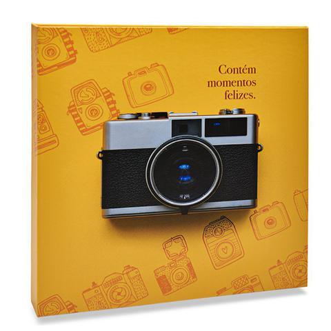 Imagem de Álbum Autocolante 15 Folhas Branca Ical Amarelo