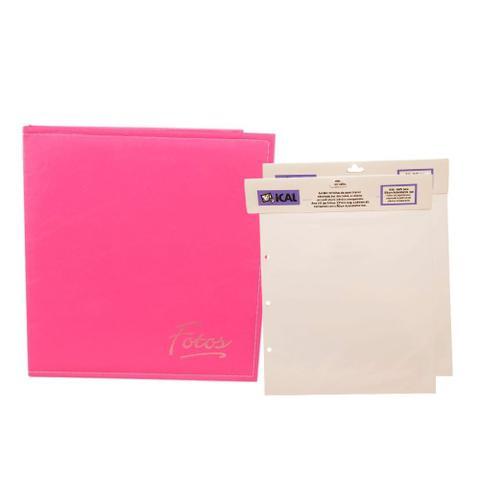 Imagem de Álbum Autocolante Pink + 2 Refis Ical
