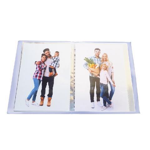 Imagem de Album Casual Rebites 40 fotos 15x21 Visor Branco